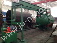 China Auto Cake Discharging Horizontal Pressure Leaf Filters For Dewaxing Of Sunflower Oil factory