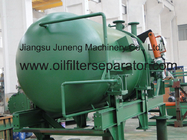 China Stainless Steel 0.4Mpa Horizontal Pressure Leaf Filter Used Syrups , Dewaxing , Degrease factory